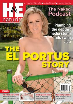 H&E June 2018 naturist nudist magazine health efficiency