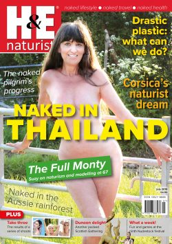 H&E July 2018 naturist nudist magazine health efficiency