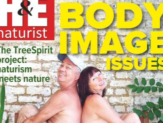 H&E August 2018 naturist nudist magazine health efficiency