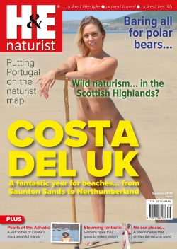 H&E September 2018 naturist nudist magazine health efficiency