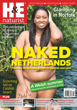 H&E October 2018 naturist nudist magazine health efficiency