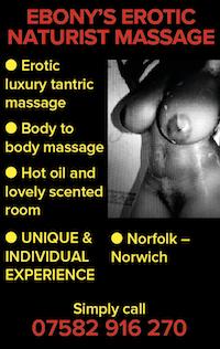 ebony naturist naked hot oil massage nude tantric norfolk norwich