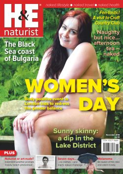 H&E November 2018 naturist nudist magazine health efficiency