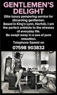 gentlemens delight norfolk naturist massage sammi nudist naked relaxation nude luxury pampering kings lynn
