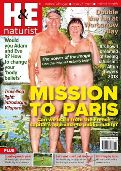 H&E January 2019 naturist nudist magazine health efficiency