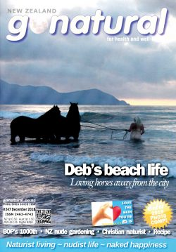 Gonatural 247 The official magazine of the New Zealand naturist federation, published Dec 2018