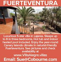 fuertventura lajares luxury 5 star villa naturist canary islands nude holidays vacations naked