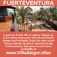 fuertventura lajares luxury 5 star villa naturist canary islands nude holidays vacations naked