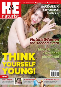 H&E June 2019 naturist nudist magazine health efficiency