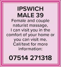 Massage for women couples ipswich naturist naked nude male masseur 39