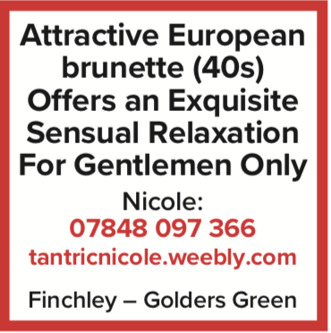 attractive european brunette nicole sensual naturist massage nude gentlemen london finchley golders green nude naked
