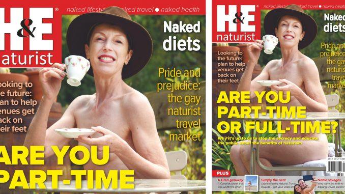 H&E April 2021 naturist nudist magazine health efficiency