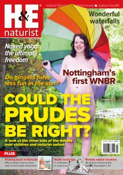 H&E July 2019 naturist nudist magazine health efficiency