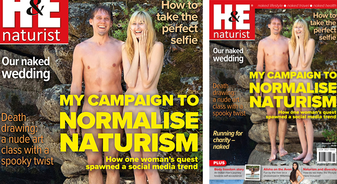 H&E November 2021 naturist nudist magazine health efficiency
