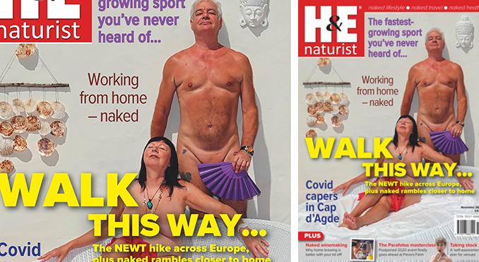 H&E November 2020 naturist nudist magazine health efficiency