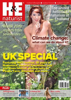 H&E August 2019 naturist nudist magazine health efficiency