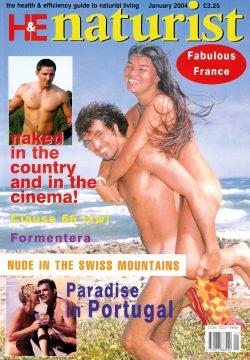 H&E naturist magazine January 2004
