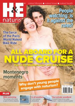 H&E November 2019 naturist nudist magazine health efficiency