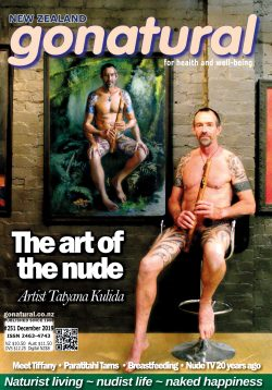 Gonatural 251 – the official magazine of the New Zealand naturist federation, published November-December 2019.