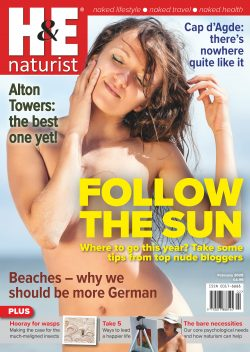 H&E February 2020 naturist nudist magazine health efficiency