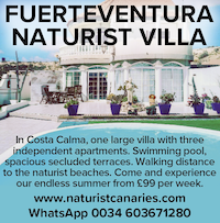 Fuerteventura naturist villa bhh beverley hills spain canaries liberated woman holidays vacations