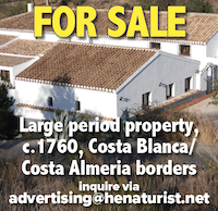 for sale spain property naturist nude costa blanca almeria house realty real estate