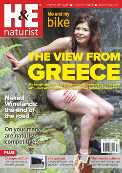 H&E July 2020 naturist nudist magazine health efficiency