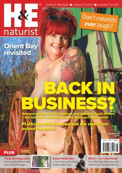 H&E August 2020 naturist nudist magazine health efficiency