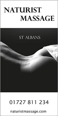 st albans naturist massage royston herts hertfordshire naked nude spa