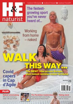 H&E November 2020 naturist nudist magazine health efficiency