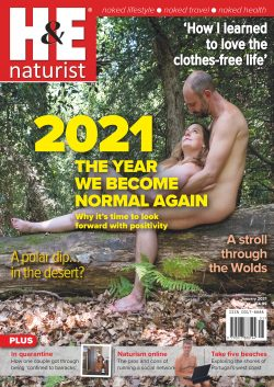 H&E January 2021 naturist nudist magazine health efficiency