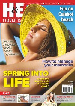 H&E May 2021 naturist nudist magazine health efficiency