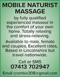 mobile naturist massage nationwide naturist nude masseur male female couples naked nude