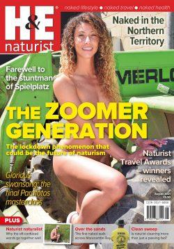 H&E August 2021 naturist nudist magazine health efficiency