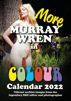 A3 Murray Wren calendar 2022 cover naturist
