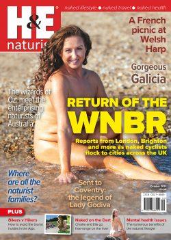 H&E October 2021 naturist nudist magazine health efficiency